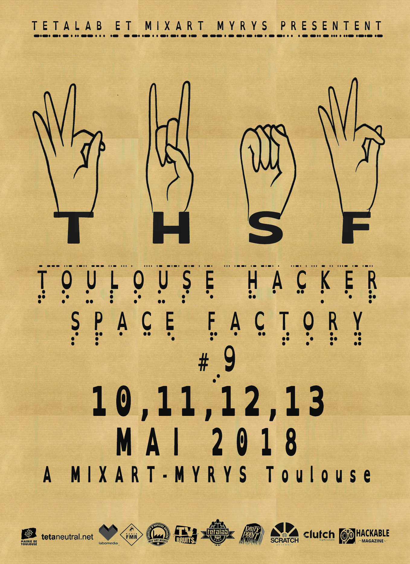 THSF - Toulouse Hacker Space Factory